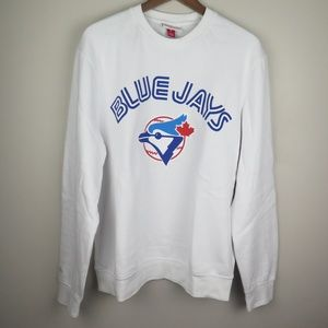 Toronto Blue Jays Baseball Retro Crewneck Sweater